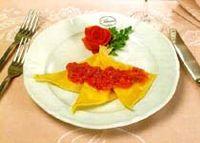 Tortelli al pecorino toscano alla sarsa piccante