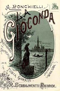 「ラ・ジョコンダ」台本表紙